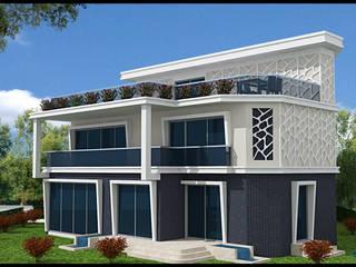 TUZLA MERCAN VİLLA PROJESİ Minimalist Evler HERA Mimarlık & İçmimarlık Minimalist