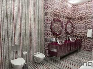 Eclectic style bathrooms by Origami Mobilya Eclectic