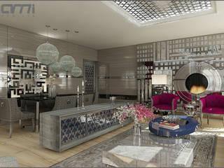 Ruang Makan Gaya Eklektik Oleh Origami Mobilya Eklektik