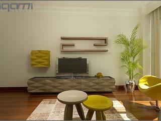 Ruang Keluarga Modern Oleh Origami Mobilya Modern