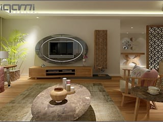 Eclectic style living room by Origami Mobilya Eclectic