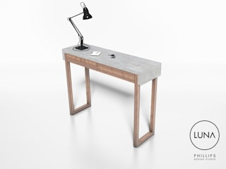 LUNA Console Table:   by Phillips Design Studio