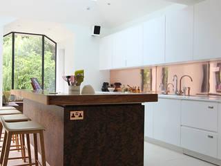 Wanstead Village Modern kitchen by Phillips Design Studio Modern