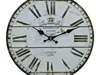 24701 - Wanduhr Vintage rund aus Holz 34 cm :   von G. Wurm GmbH + Co. KG