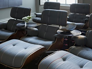 Bedford Row Cinema: classic Media room by Violet & George