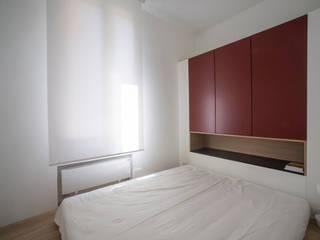Silvia Bortolini architetto Chambre minimaliste