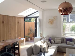 Venn Street Part 2 Modern living room by Proctor & Co. Architecture Ltd Modern