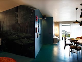 Salas / recibidores de estilo  por mg2 architetture, Moderno