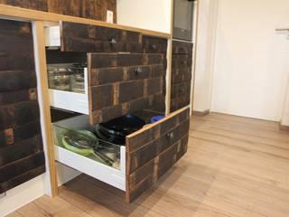 """""""Sign of Wine"""" - Küche Ausgefallene Küchen von Holz-Design Schlichter Ausgefallen"""