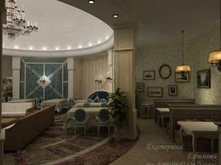 Многофункциональный зал в Русском стиле Медиа комната в классическом стиле от Efimova Ekaterina Классический