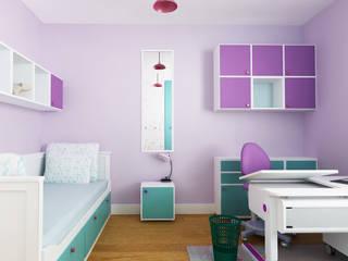 Pokoje dziecięce Eklektyczny pokój dziecięcy od SPOIWO studio Eklektyczny