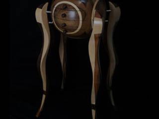 MEUBLE BOULE:  de style  par Atelier Daniel Pelegrin Ebeniste