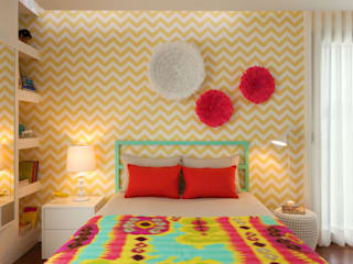 Dormitorios de estilo  por Ana Rita Soares- Design de Interiores