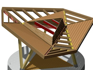 Florian Eckardt - architectinamsterdam Modernes Messe Design
