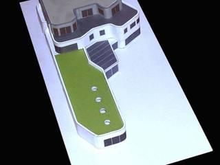 Casas de estilo moderno de Florian Eckardt - architectinamsterdam Moderno