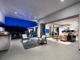 Balcony Casas modernas de D-Max Photography Moderno