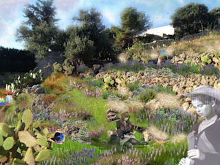 Taman Gaya Mediteran Oleh MELLOGIARDINI EXTERIOR DESIGNERS Mediteran