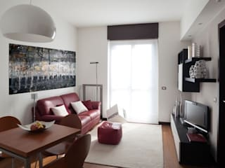 Salon moderne par gk architetti (Carlo Andrea Gorelli+Keiko Kondo) Moderne