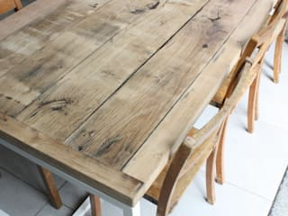 Deben Table in Reclaimed French Oak Salvation Furniture ComedorMesas