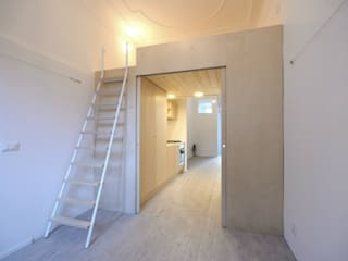 Dormitorios minimalistas de supercake Minimalista