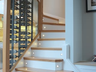 Clapham South - Conversion and Refurbishment Arc 3 Architects & Chartered Surveyors Modern Corridor, Hallway and Staircase