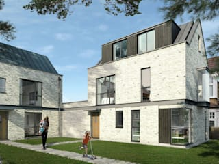 New-build Houses, SW20 by Mohsin Cooper Architects