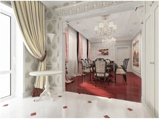 Dining room by студия авторского дизайна  Альбины Сибагатулиной, Classic
