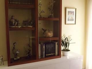 Traço Magenta - Design de Interiores Salas de entretenimiento de estilo clásico