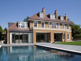 Oxshott Rise, Surrey Country style pool by Hale Brown Architects Ltd Country