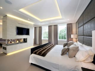 Oxshott Rise, Surrey Modern style bedroom by Hale Brown Architects Ltd Modern
