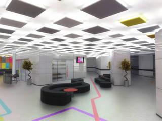 Hastane Sirkülasyon Alanı Tasarımı Modern Hastaneler m. rezan özge özdemir Modern