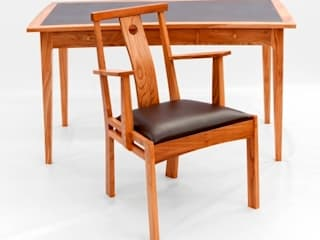 Work Desk & Chair:   by John Thatcher Furniture