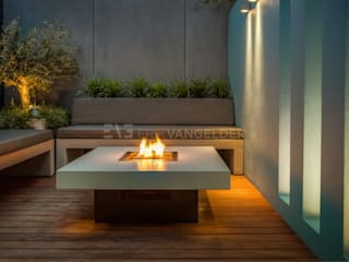 Industrial style garden by ERIK VAN GELDER | Devoted to Garden Design Industrial