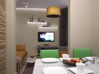 Квартира на Рахманинова: Кухни в . Автор – Максим Любецкий, Минимализм