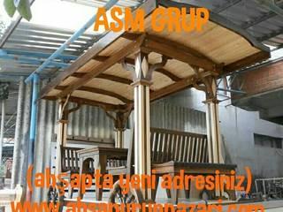 by ASM GRUP bahçe mobilyaları ve ahşap uygulamaları Рустiк