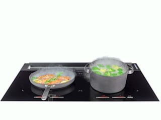 AirStream EVO 01 - Gerät in Aktion - Freigestellt: minimalistische Küche von ERGE GmbH