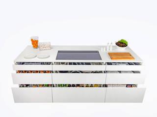 AirStream EVO 01 - Stauraumbild : moderne Küche von ERGE GmbH