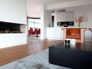 Salon moderne par BVO Vloeren Moderne
