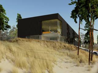Duinvilla Wassenaar: moderne Huizen door VVKH Architecten