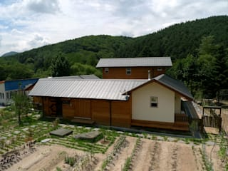 Casas de estilo asiático de a0100z space design Asiático