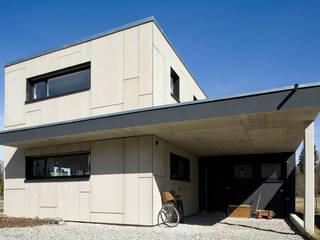 Low Budget Haus in Leutkirch Moderne Häuser von KARL+ZILLER Architektur Modern