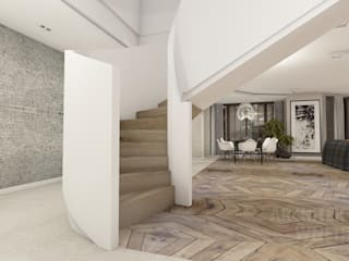 Proejkt wnętrza: styl , w kategorii Salon zaprojektowany przez Architekt wnętrz Ilona Sobiech