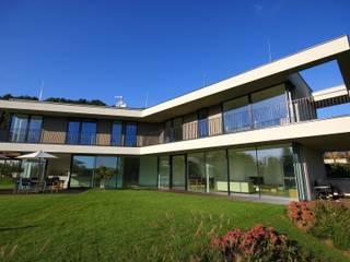 Schwebender Bügel in Graz Moderne Häuser von KARL+ZILLER Architektur Modern