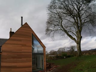 Killearn Extension Salones modernos de George Buchanan Architects Moderno