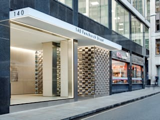 Fenchurch Street Modern office buildings by Bogle Architects Modern