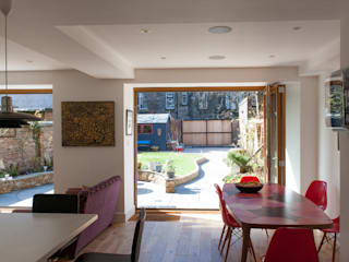 Hillhead Refurbishment Comedores de estilo moderno de George Buchanan Architects Moderno