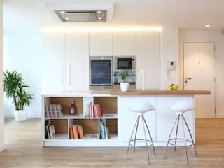 Reforma integral de vivienda Cocinas de estilo escandinavo de ILIA ESTUDIO Escandinavo