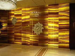 Back Lit Faux Alabaster ShellShock Designs Locaux commerciaux & Magasin asiatiques