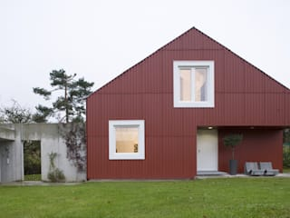 Patchworkfamilienhaus Skandinavische Häuser von Bohn Architekten GbR Skandinavisch