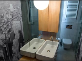 Baño 2 de Mayo.. Baños de estilo moderno de Estudio TYL Moderno